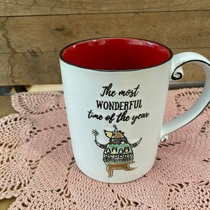 The Most Wonderful Time Of the Year Christmas Mug